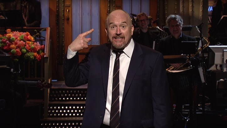 Watch Louis C.K.'s Edgy 'SNL' Opening Monologue