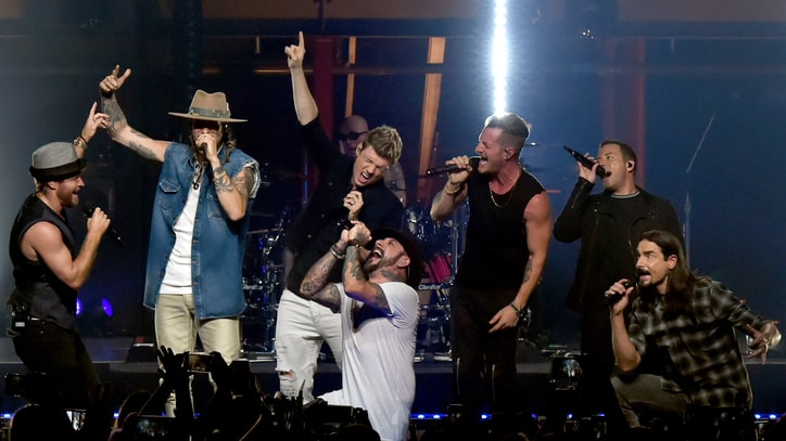 See Florida Georgia Line, Backstreet Boys Update 'Cruise' on 'Crossroads'