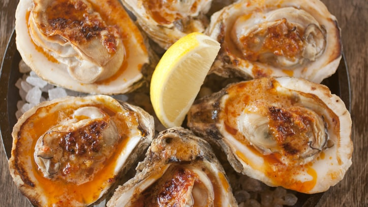 Two-Ingredient Grilled Oysters