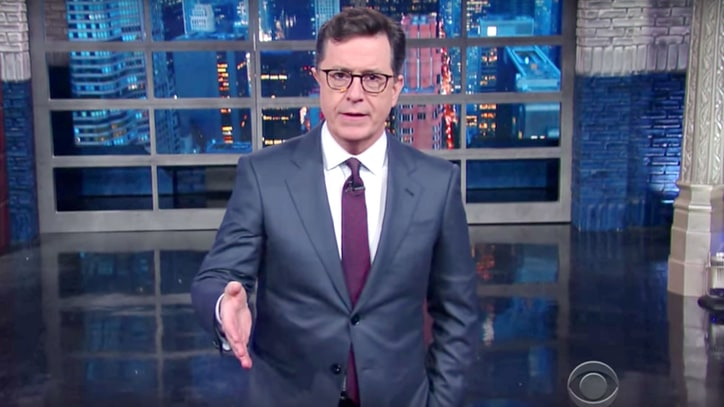 Watch Stephen Colbert Call For 'Million Meryl March'
