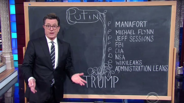 Watch Stephen Colbert Break Down Donald Trump's Relationship With Putin