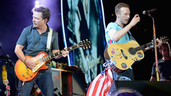 See Coldplay, Michael J. Fox Play 'Back to the Future' Songs Onstage