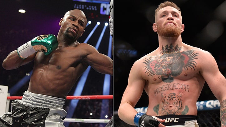Conor McGregor, Floyd Mayweather Hold Expletive-Filled Press Conference