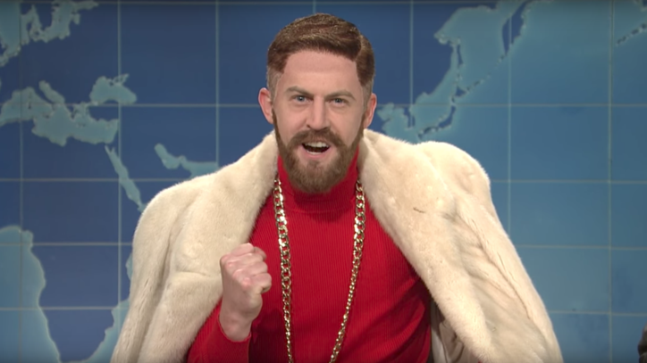 See Fake Conor McGregor Break Down Mayweather Fight on 'Weekend Update'