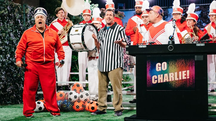 Watch Kevin James, James Corden Play Bad Sports Dads in Goofy Sketch