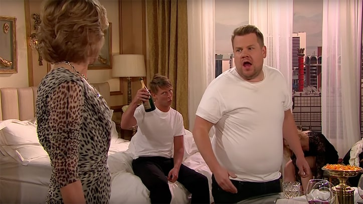 Watch Katy Perry Soap Opera With Jack McBrayer, Claire Danes on 'Corden'