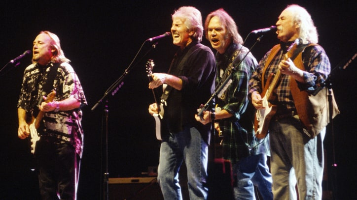 Flashback: CSNY Rip Into 'Southern Man' on 2000 Reunion Tour