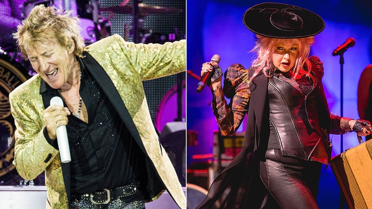 Rod Stewart, Cyndi Lauper Join for Summer Tour