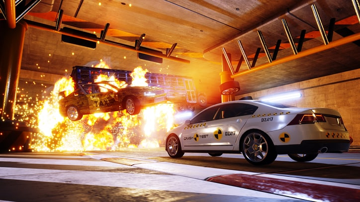 Watch the First Trailer for 'Danger Zone', the Crash Mode Game from 'Burnout' Creators