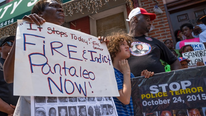 Civilian Review Board Substantiates Charges Against Policeman in Eric Garner Case