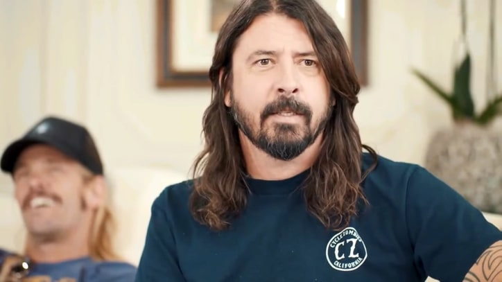 See Dave Grohl's Over-the-Top Christopher Walken Impression