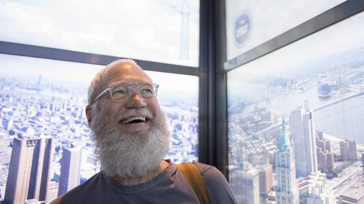 David Letterman Talks Distracting 'Trumpy' With Comedy in Rare Interview