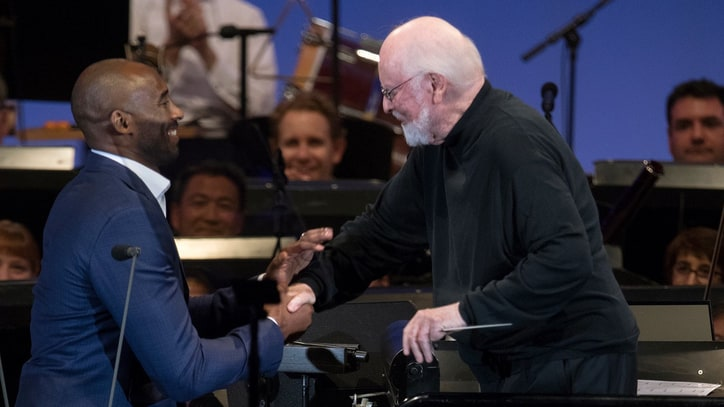 Watch Kobe Bryant Recite 'Dear Basketball' Live With Composer John Williams