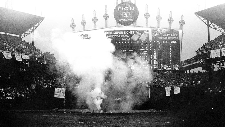Flashback: Watch 'Disco Demolition Night' Devolve Into Fiery Riot