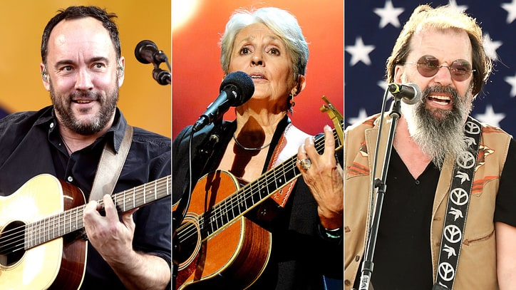 Dave Matthews, Joan Baez, Steve Earle Lead 'Concerts for Refugees' Tour