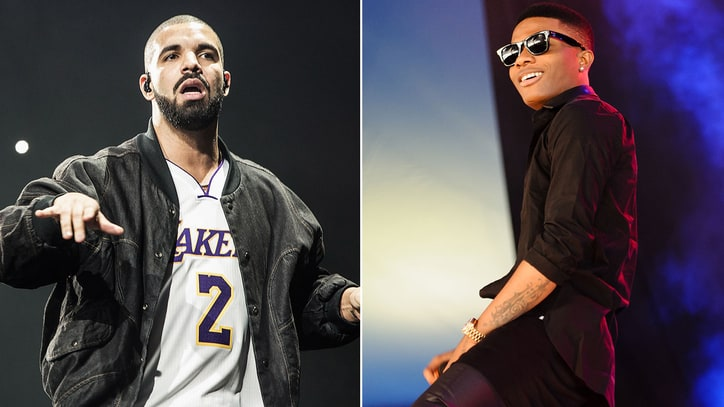 Hear Drake, Wizkid on Romantic New Song 'Hush Up the Silence'