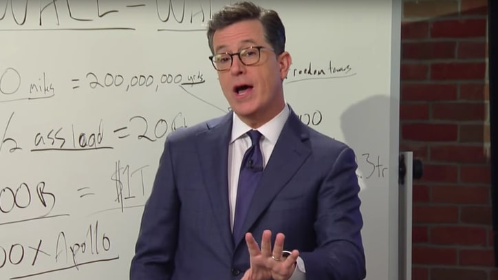 See Stephen Colbert, Experts Help Blueprint Trump's Wall