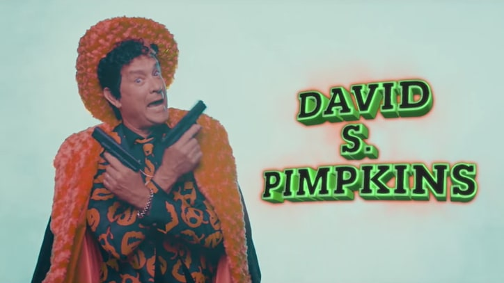 Watch Katy Perry, David S. Pumpkins Invade All-Star 'Rap Song' on 'SNL'
