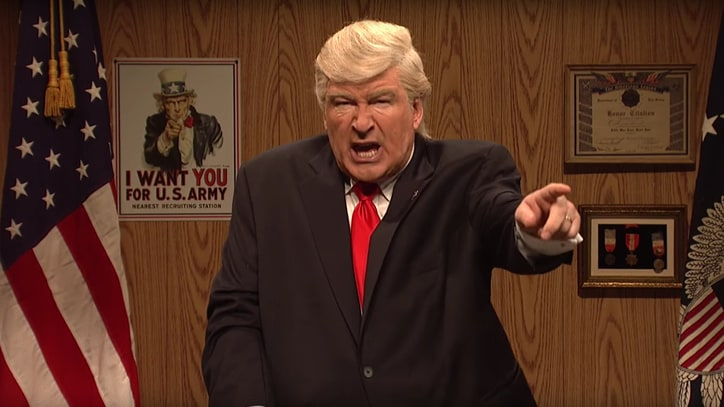 Watch Alec Baldwin's Donald Trump Dupe Supporters on 'SNL'