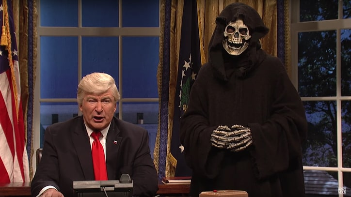 Watch 'SNL,' Alec Baldwin Bash Trump's Diplomacy Skills