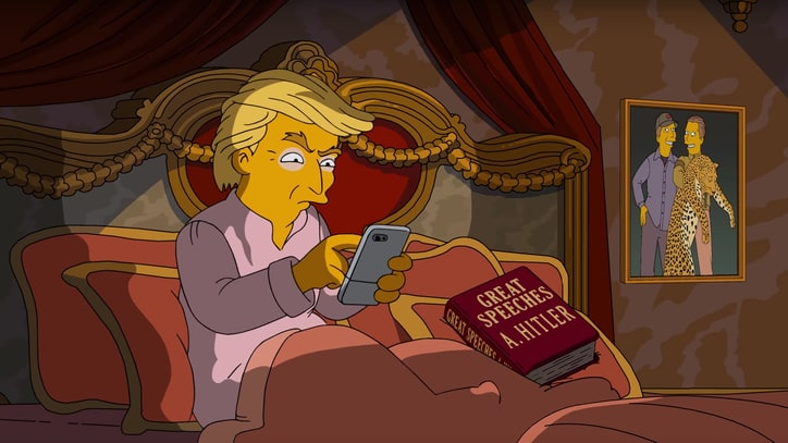 Watch 'The Simpsons' Scathe Donald Trump in Campaign Ad