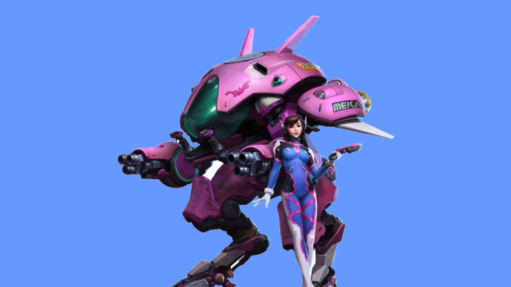'Overwatch' Star D.Va Arrives in 'Heroes Of The Storm'