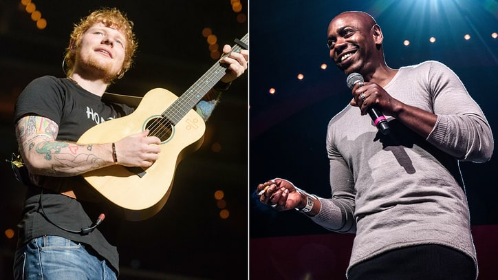 Watch Dave Chappelle, Ed Sheeran's Rowdy Cover of Radiohead's 'Creep'