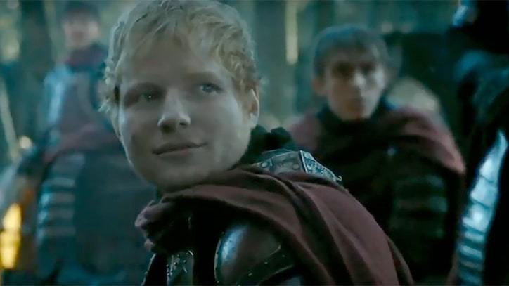 Watch Ed Sheeran Sing Campfire Song, Eat Rabbit on 'Game of Thrones'