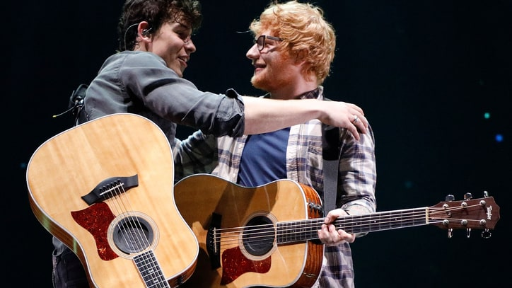 Watch Shawn Mendes, Ed Sheeran's Mighty 'Mercy' Duet