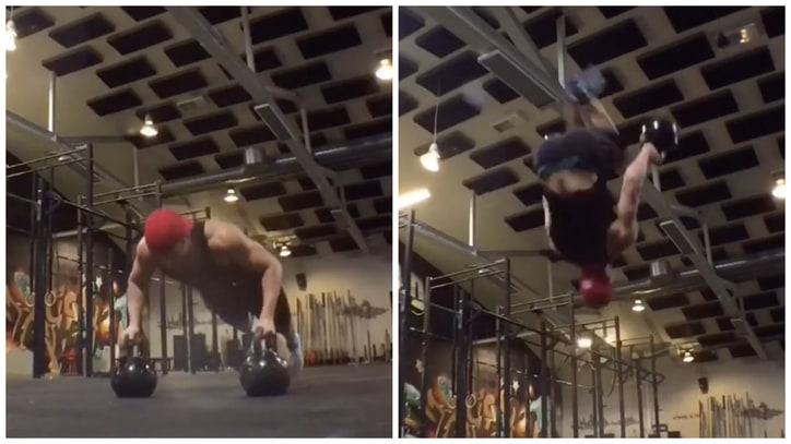 Here is One of the Most Impressive Feats of Physical Prowess the Internet Has to Offer