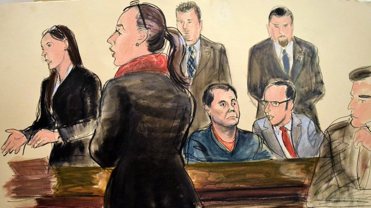 What We Learned at Joaquin 'El Chapo' Guzman's Federal Court Appearance