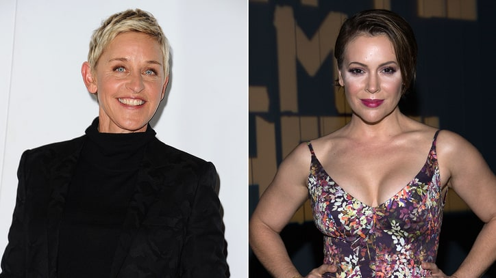 Ellen DeGeneres Shares Her Own 'Me Too' Message, Alyssa Milano Urges Action