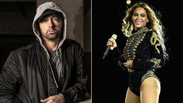 Hear Eminem's Emotional New Ballad 'Walk on Water' With Beyonce