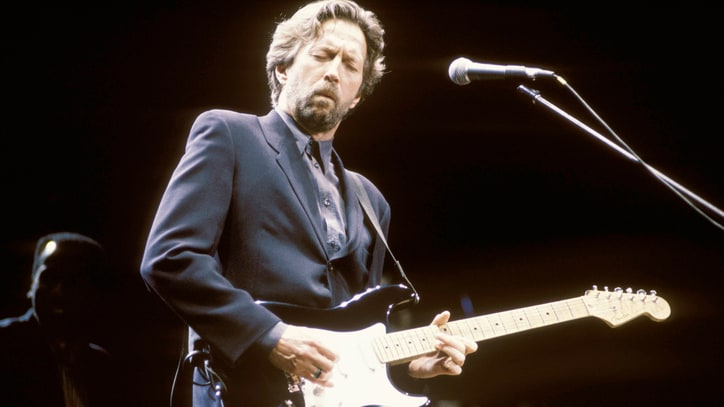 Eric Clapton Sued by Bluesman's Estate Over Mistaken 'Unplugged' Credit