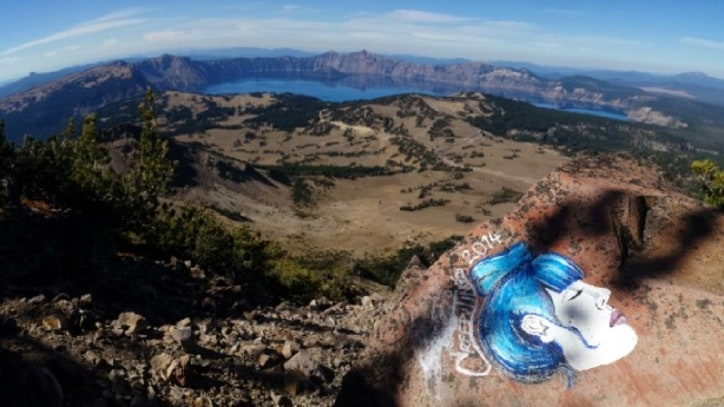 How Reddit Helped Catch a National Park Graffiti Bandit