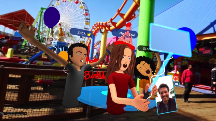 Facebook Wants You to Take VR Selfies