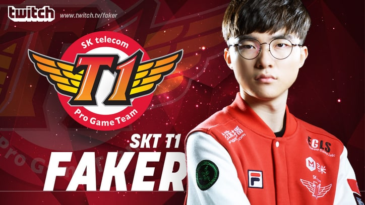 'League of Legends' Megastar 'Faker' Sets New Twitch Record With His First Livestream