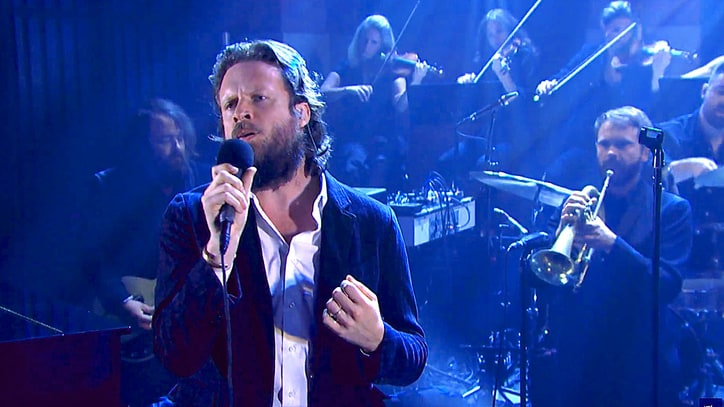 Father John Misty Brings Full Orchestra for 'Seth Meyers' Performance