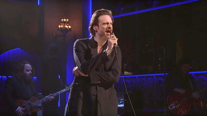 See Father John Misty Sing About VR Sex With Taylor Swift on 'SNL'