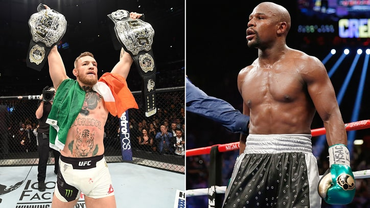 Conor McGregor Signs 'Record-Breaking Deal' to Fight Floyd Mayweather