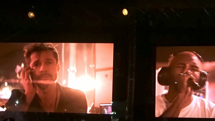Watch Frank Ocean Serenade Brad Pitt at FYF Fest