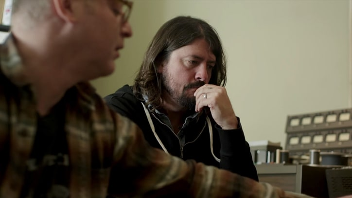 Watch Dave Grohl Listen to Old Foo Fighters Demos in Deleted Doc Outtake