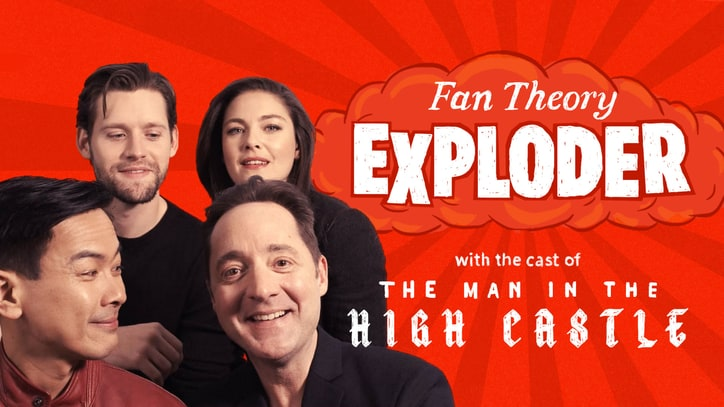 Watch 'Man in the High Castle' Cast Laugh Off WTF Fan Theories