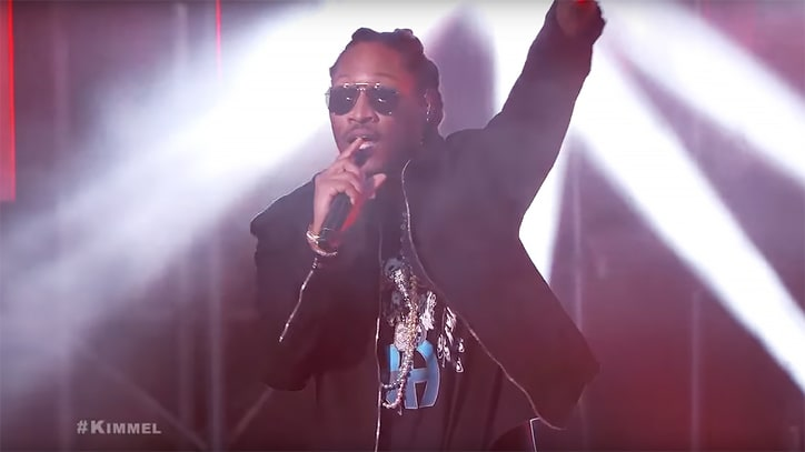 Watch Future's Fiery 'Mask Off' Performance on 'Kimmel'