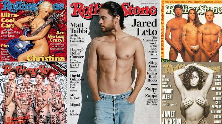 Getting Naked on the Cover of Rolling Stone