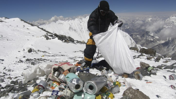Massive Efforts Underway to Clean Up Mount Everest