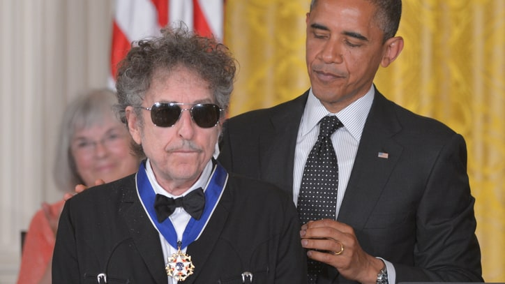 Bob Dylan Before the Nobel: 12 Times He Publicly Accepted an Honor