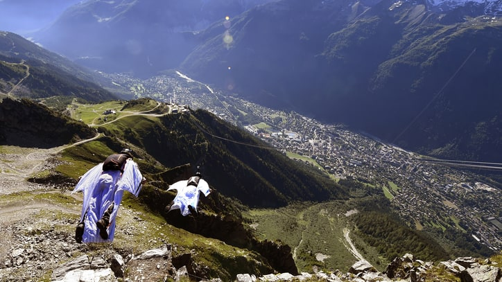 France's Wingsuit Graveyard Claims a Ninth Life