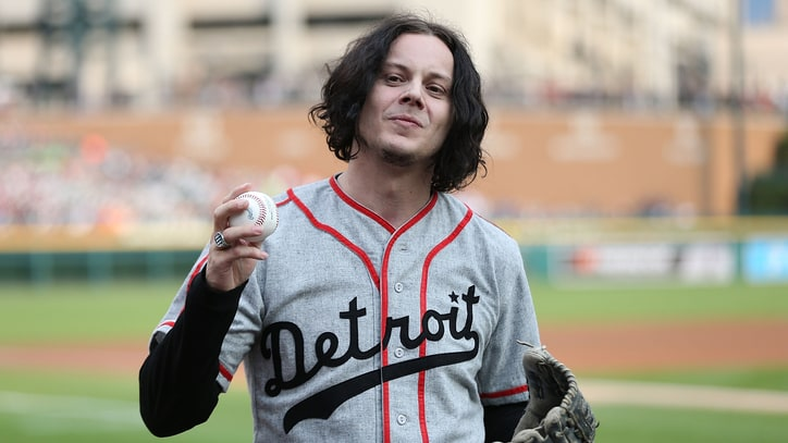 Jack White Plays in Alabama Celebrity Baseball Game