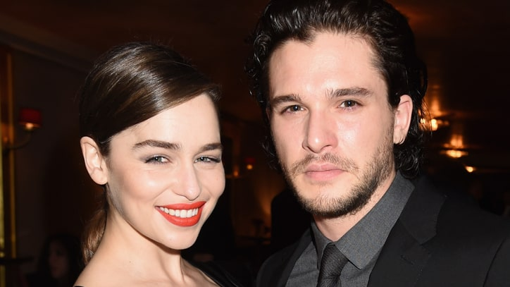 Watch 'Game of Thrones' Stars Emilia Clarke, Kit Harrington on Finale Twist